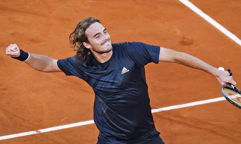 Roland Garros: Απέκλεισε (και) το «θηρίο» ο Τσιτσιπάς, 3-1 τον Ίσνερ! (highlights)