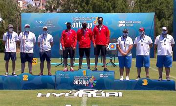 Πανευρωπαϊκοί Αγώνες Τοξοβολίας: Πήρε το χάλκινο μετάλλιο η Εθνική ομάδα σύνθετου τόξου