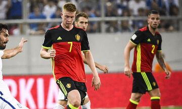 Euro 2020: Χάνει μόνο το ματς με τη Ρωσία ο Ντε Μπρόινε