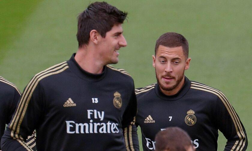 Κουρτουά: «Ο Αζάρ θα μείνει στη Ρεάλ Μαδρίτης»