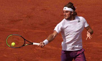 """Τσιτσιπάς - Μπούστα 3-0: Σούπερ Στέφανος, προκρίθηκε στους """"8"""" του Roland Garros (Highlights)"""