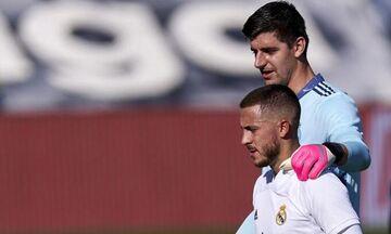 «Συνεχίζει 100% στη Ρεάλ Μαδρίτης ο Αζάρ!» λέει ο Κουρτουά