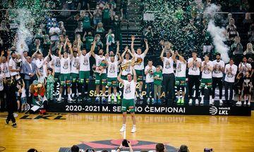 Ζαλγκίρις: Πρωταθλήτρια Λιθουανίας με πρωταγωνιστή τον Γουόκαπ