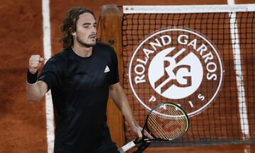 Roland Garros: Ξανά στα ημιτελικά ο Τσιτσιπάς, ισοπέδωσε τον Μεντβέντεφ! (highlights)