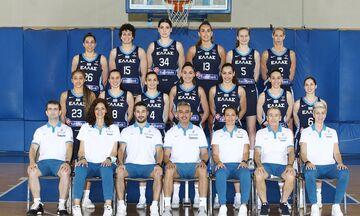 Eurobasket: Η τελική 12άδα της Εθνικής Γυναικών