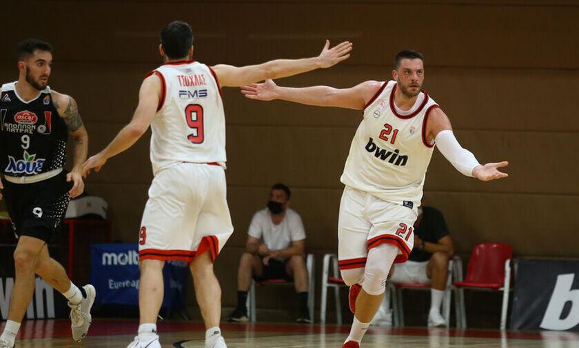 Α2 μπάσκετ: Μάχη μέχρι τέλους μεταξύ Ολυμπιακού Β΄ και Απόλλωνα Πατρών για την 1η θέση!