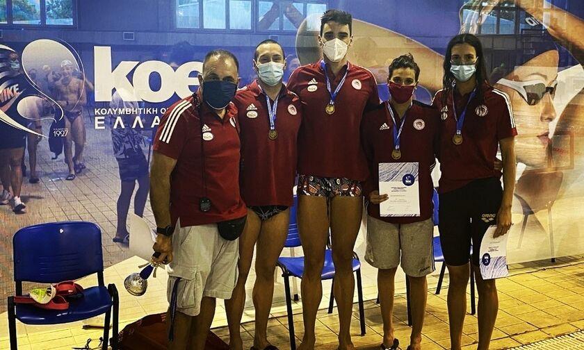 Κολύμβηση: Σαρώνει ο Ολυμπιακός μέσα στο Ποσειδώνιο της Θεσσαλονίκης