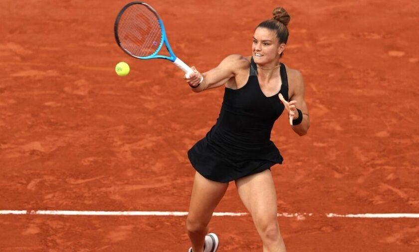 Κρεϊτσίκοβα - Σάκκαρη 2-1: Έναν πόντο από τον τελικό του Roland Garros βρέθηκε η Μαρία