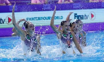 Καλλιτεχνική Κολύμβηση: Αγκαλιά με την πρόκριση στους Ολυμπιακούς Αγώνες η Εθνική
