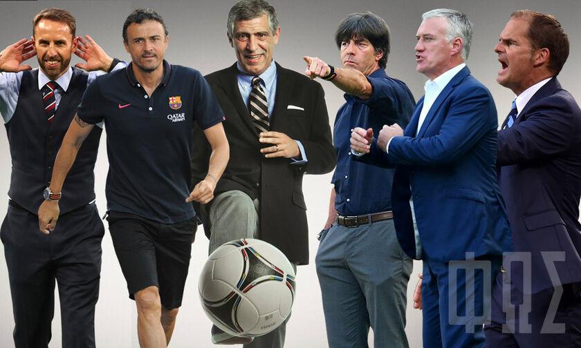 Euro 2020: Έξι (προπονητές) κι όποιος αντέξει!