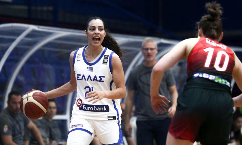 Εθνική Γυναικών: Νοκ άουτ η Χριστινάκη, χάνει το Ευρωμπάσκετ!