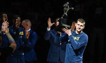 Γιόκιτς: Παρέλαβε το βραβείο του φετινού MVP (vid)