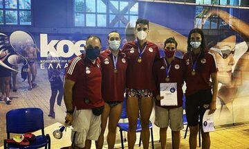 Πανελλήνιο Πρωτάθλημα Κολύμβησης: Αχόρταγος ο Ολυμπιακός, το 62ο μέσα στο Ποσειδώνιο! (vid)