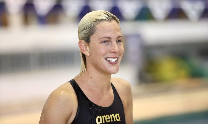 Κέλλυ Αραούζου: Το συγκινητικό αντίο της κολυμβήτριας του Ολυμπιακού