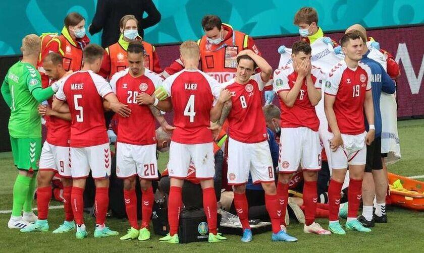 Euro 2020: Η σωτήρια για τον Έρικσεν παρέμβαση του Κιάερ