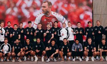 Εuro: Η φωτογραφία των Γερμανών διεθνών με τον... Έρικσεν κι οι ευχές για ταχεία ανάρρωση!