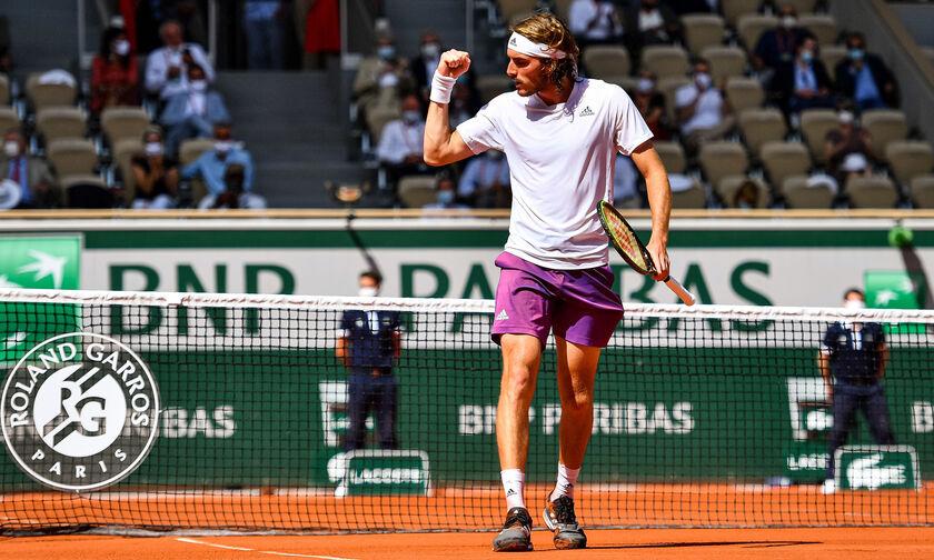 Roland Garros: Γράφει ιστορία ο Τσιτσιπάς κόντρα στον Τζόκοβιτς