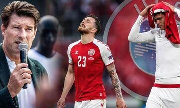 «Έπρεπε να διακοπεί οριστικά το Δανία - Φινλανδία» κατά τους Μίκαελ Λάουντρουπ και Πέτερ Σμάιχελ!