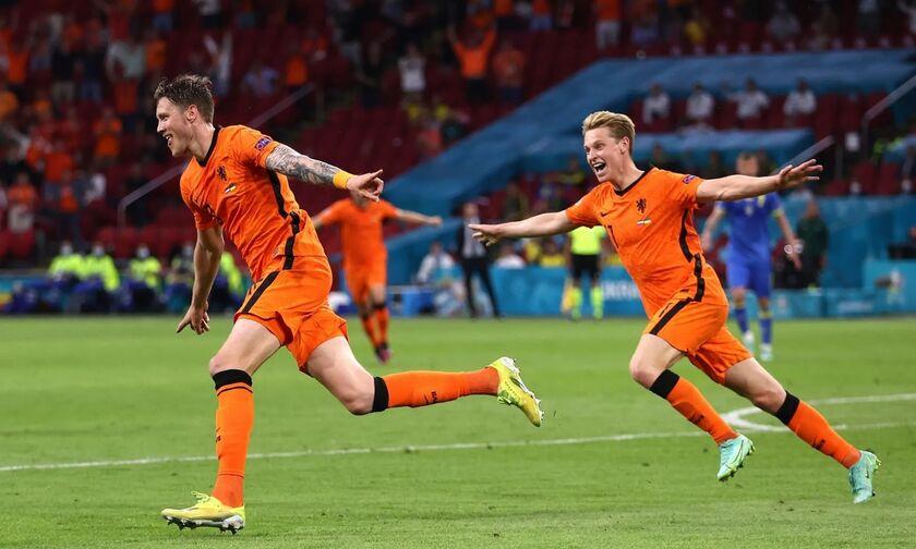 Ολλανδία - Ουκρανία 3-2: Νικητές οι «οράνιε» στη ματσάρα του Άμστερνταμ (highlights)