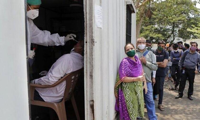 Ινδία - Κορονοϊός: 3.921 νεκροί και πάνω από 70.000 κρούσματα σε 24 ώρες