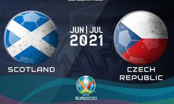Live Streaming: Σκοτία - Τσεχία (16:00)