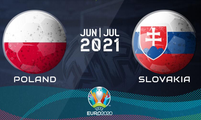 Live Streaming: Πολωνία - Σλοβακία (19:00)