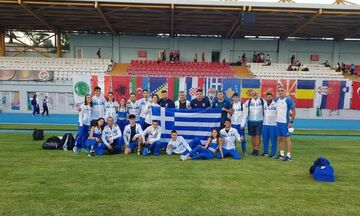 Στίβος: Δεκαπέντε μετάλλια για την ελληνική αποστολή στο Βαλκανικό Πρωτάθλημα Κ20 της Πόλης