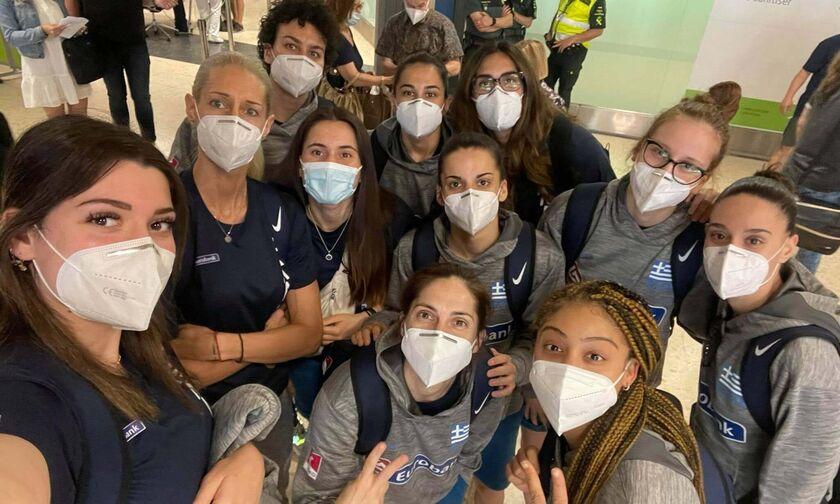 Εθνική Γυναικών: Έφτασε στη Βαλένθια για το Ευρωμπάσκετ (pic)