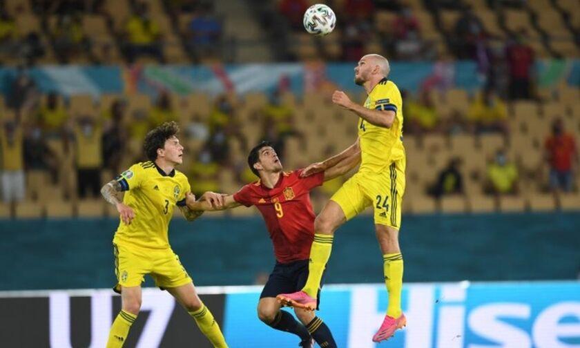 Ισπανία - Σουηδία 0-0: Την «κλείδωσε» με ήρωα τον Όλσεν! (highlights)