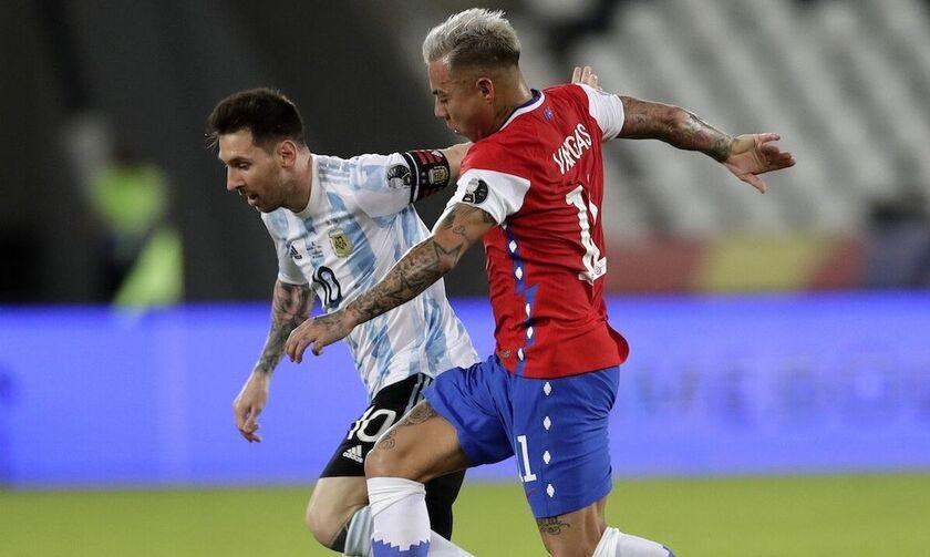 Copa America: Νίκη με Ρομέρο η Παραγουάη, γκολάρα ο Μέσι στο Αργεντινή - Χιλή 1-1 (vids)