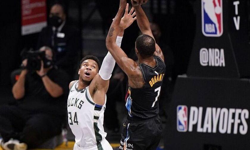 Γιάννης Αντετοκούνμπο: Στην καλύτερη αμυντική πεντάδα του NBA για τρίτη διαδοχική χρονιά