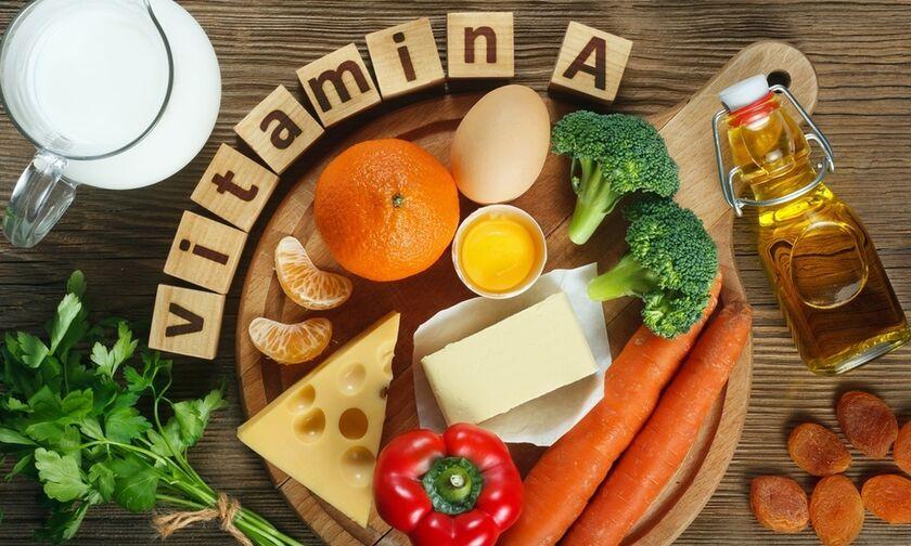 Ποιες τροφές περιέχουν την πολύτιμη βιταμίνη Α: Τι προσφέρει και τι γίνεται αν πάρετε μεγάλη δόση