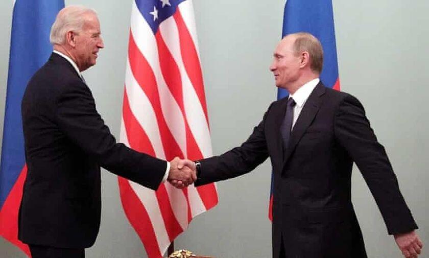 Κρεμλίνο: Χρήσιμη η συνάντηση Πούτιν-Μπάιντεν, απίθανο να προκύψει συμφωνία