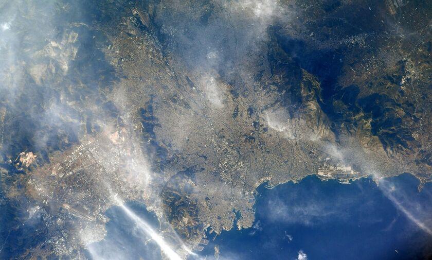 Η «όμορφη Αθήνα» μέσα από τα μάτια ενός Αμερικανού αστροναύτη (φωτό)
