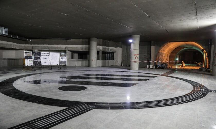 Μετρό Πειραιά: Για πρώτη φορά στον σταθμό «Δημοτικό θέατρο» (pics)
