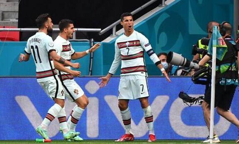 Ουγγαρία - Πορτογαλία 0-3: Τρίποντο με Γκερέιρο και τον CR7 των ρεκόρ!