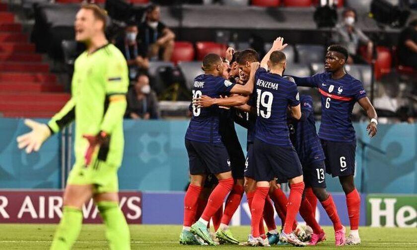 Γαλλία - Γερμανία 1-0: Με αυτογκόλ του Χούμελς άνοιξαν το σκορ οι «τρικολόρ» (vid)!