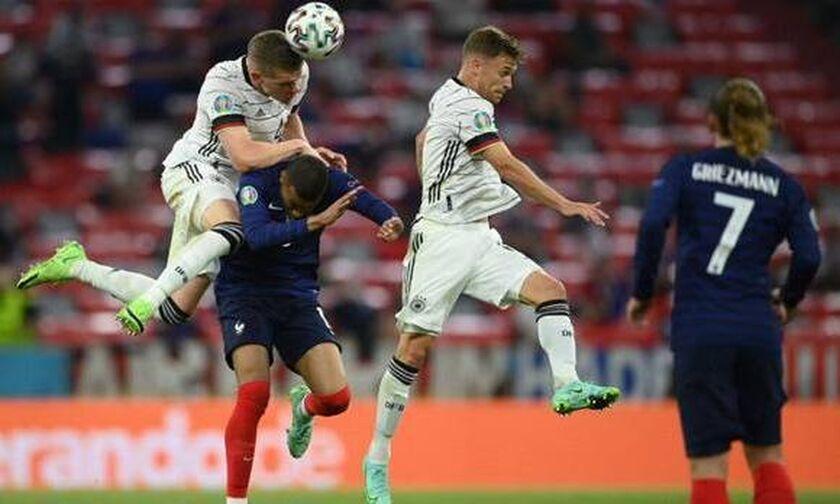 Γαλλία - Γερμανία 1-0: Άγγιξε το 2ο γκολ η Γαλλία, αλλά το δοκάρι το στέρησε στον Ραμπιό... (vid)