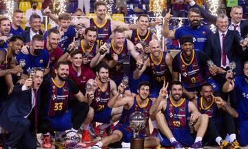 Μπαρτσελόνα - Ρεάλ Μαδρίτης 92-73: Πρωταθλητής Ισπανίας ο Καλάθης (vids)