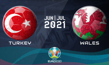 Live Streaming: Τουρκία - Ουαλία (19:00)