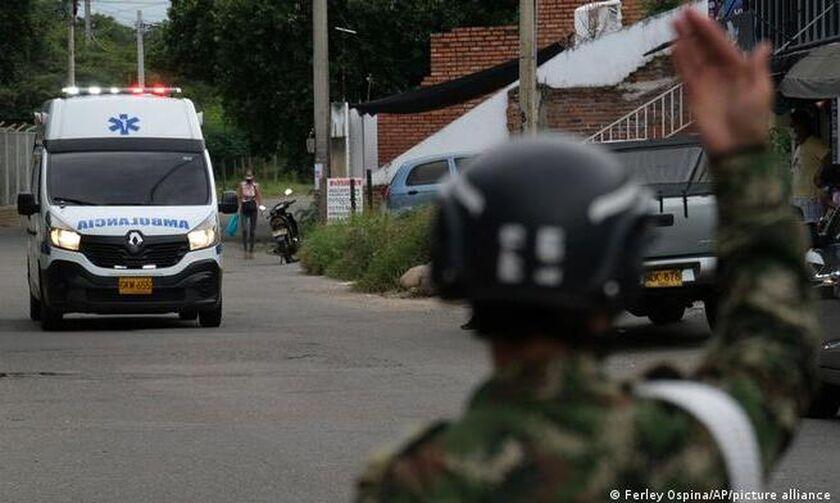 Κολομβία: 36 τραυματίες από έκρηξη αυτοκινήτου σε στρατιωτική βάση