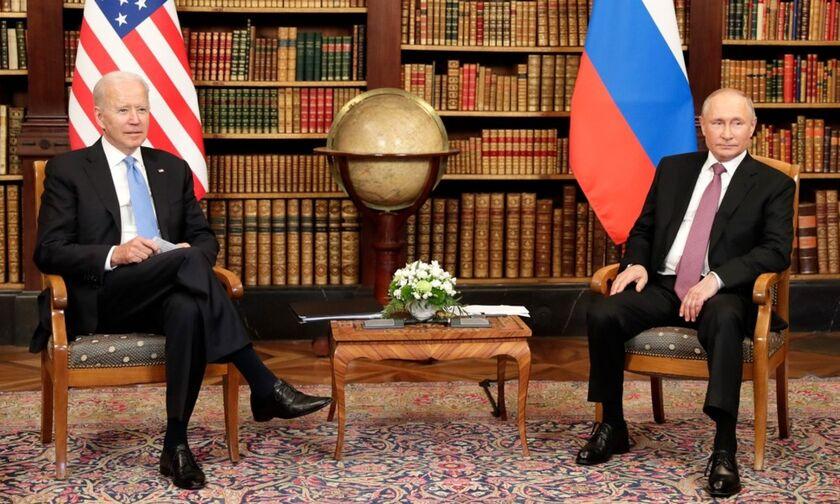 Ολοκληρώθηκε επιτυχημένα η συνάντηση Μπάιντεν - Πούτιν στη Γενεύη, σύμφωνα με τους Ρώσους