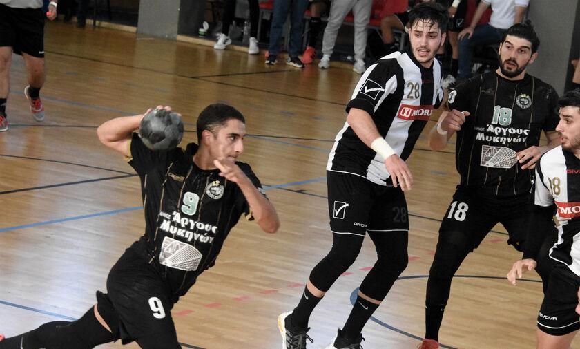 Χάντμπολ: Στους τελικούς ο ΠΑΟΚ, 28-26 τον Διομήδη Άργους