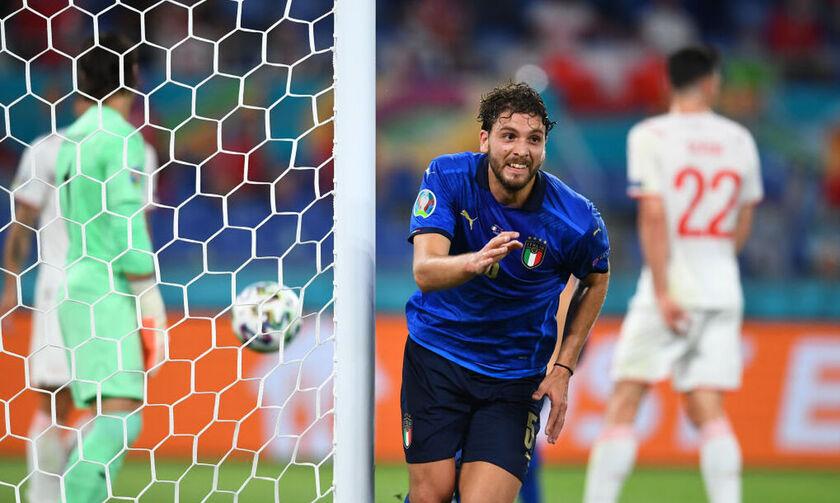 Euro: Ιταλία - Ελβετία 3-0: Τα γκολ του αγώνα