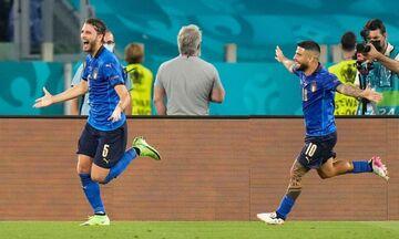 Euro 2020: Ιταλία – Ελβετία 3-0: Η «Σκουάντρα Ατζούρα» έγινε η πρώτη που προκρίθηκε στις «16» (hl)