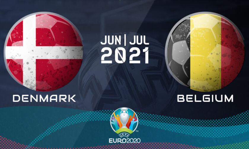 Live Streaming: Δανία - Βέλγιο (19:00)