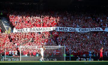 Δανία - Βέλγιο: Standing Ovation στο 10' για τον Έρικσεν (vid)