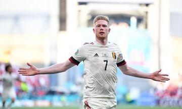 Δανία - Βέλγιο 1-2 : Με υπογραφή Ντε Μπρόινε στους «16»! (highlights)