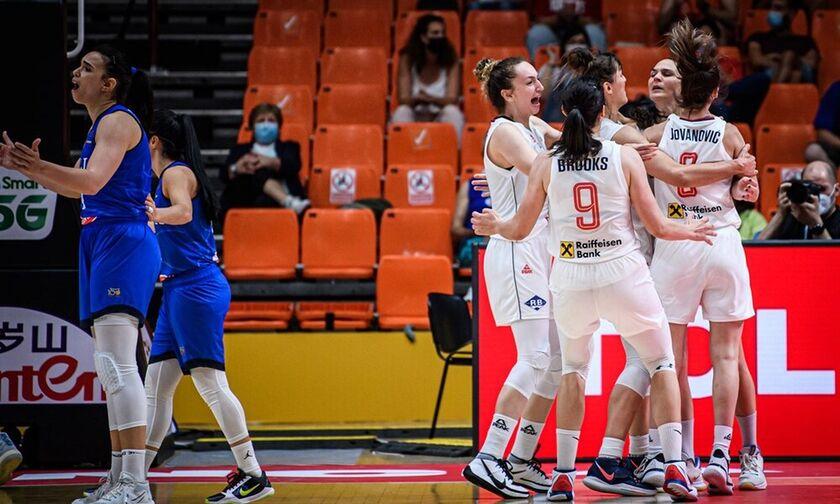 Ευρωμπάσκετ γυναικών: Η Σερβία στην παράταση 86-81 την Ιταλία (vid)