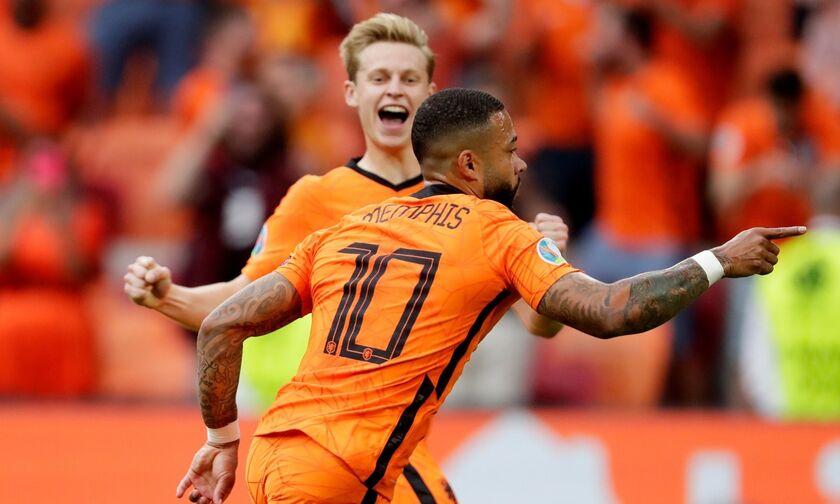 EURO 2020: Ολλανδία - Αυστρία 2-0: Σφράγισε το εισιτήριο η Ολλανδία (highlights)